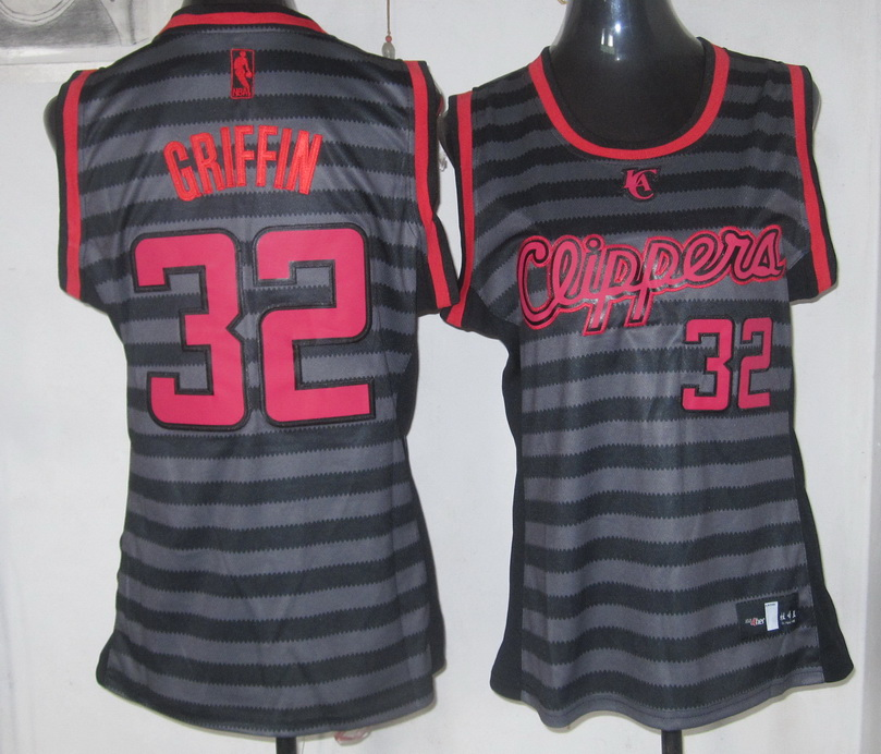 NBA Womens Los Angeles Clippers 32 Griffin new Groove fashion Swingman jersey