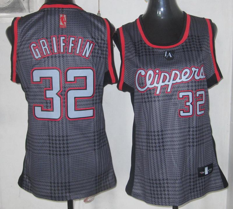 NBA Womens Los Angeles Clippers 32 Griffin Rhythm Fashion Limited Edition jersey