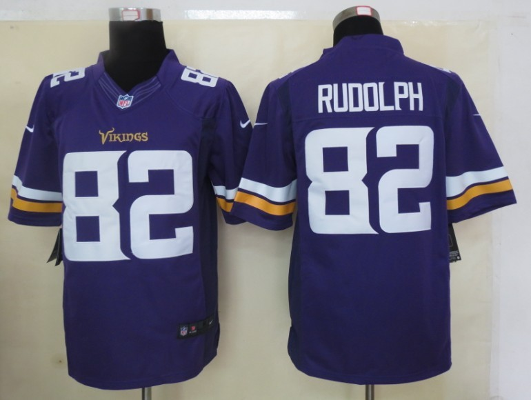 Minnesota Vikings 82 Rudolph Purple 2013 Nike Limited Jerseys