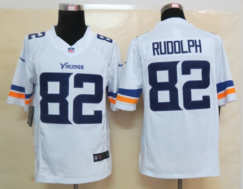 Minnesota Vikings 82 Rudolph White 2013 Nike Limited Jerseys