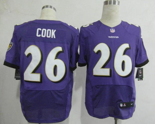 Baltimore Ravens 26 Cook Purple 2013 Nike Elite Jerseys