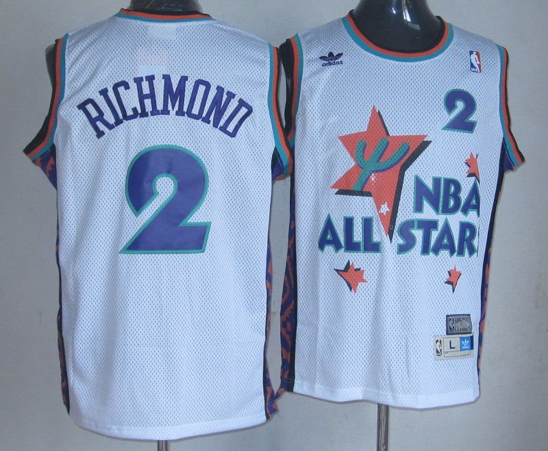 NBA 2 Richmond 1995 all star white jersey