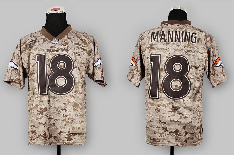 Denver Broncos 18 Peyton Manning Nike Elite Camo US.Mccuu 2013 New Jerseys