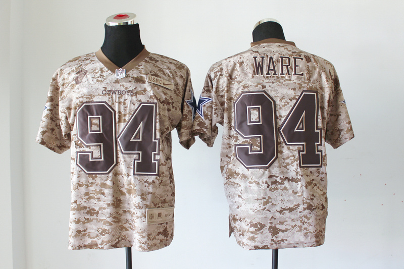 Dallas cowboys 94 Ware Nike Elite Camo US.Mccuu 2013 New Jerseys