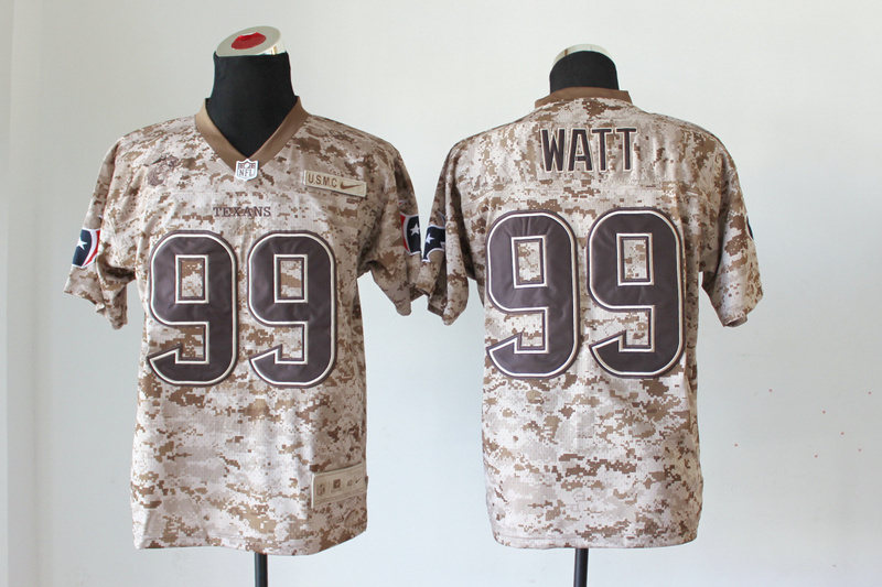 Houston Texans 99 J. J. Watt Nike Elite Camo US.Mccuu 2013 New Jerseys