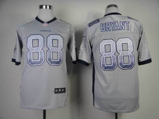 Nike Drift Fashion Elite Dallas Cowboys 88 Bryant Grey