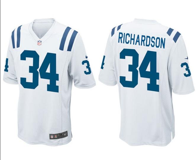 Indianapolis Colts 34 Richardson Blue 2013 Nike Elite Jerseys