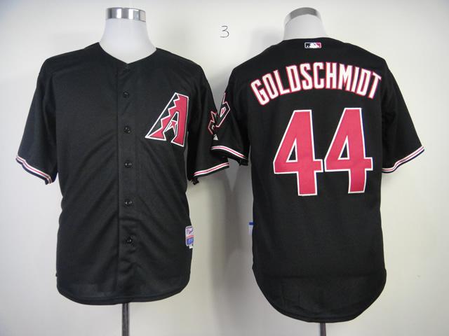 MLB Arizona Diamondbacks 44 Paul Goldschmidt Black Jersey