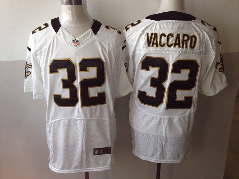 New Orleans Saints 32 Kenny Vaccaro white 2013 Nike Elite Jersey