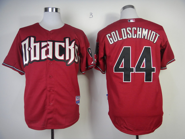MLB Arizona Diamondbacks 44 Paul Goldschmidt red Jersey