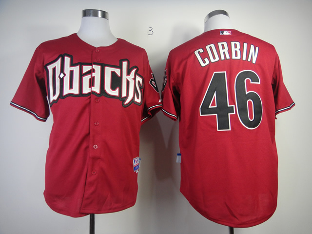 MLB Arizona Diamondbacks 46 Patrick Corbin red Jersey