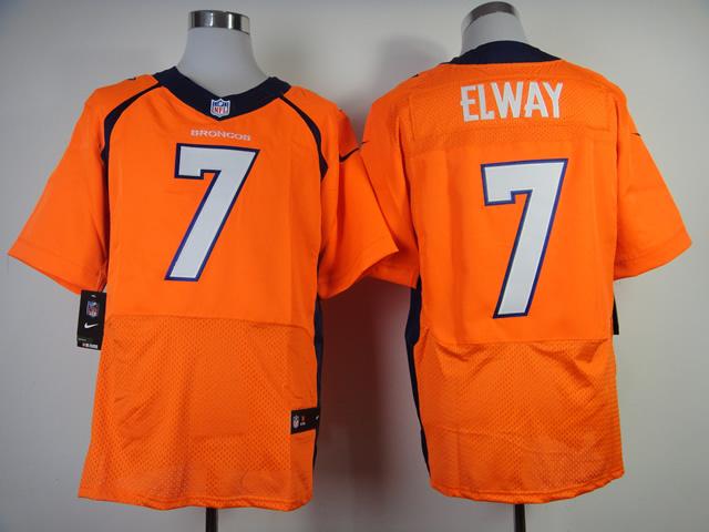 Denver Broncos 7 Elway Orange 2013 New Nike Elite Jerseys