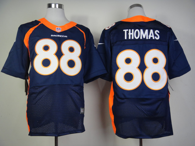 Denver Broncos 88 Demaryius Thomas 2013 New Nike Elite Jerseys
