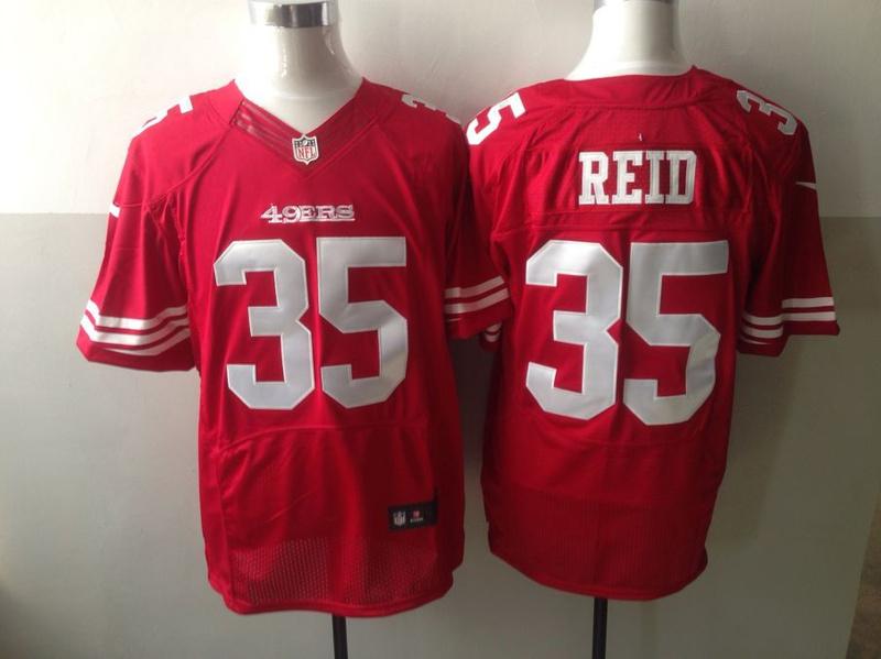 San Francisco 49ers 35 Reid red 2013 New Nike Elite Jerseys