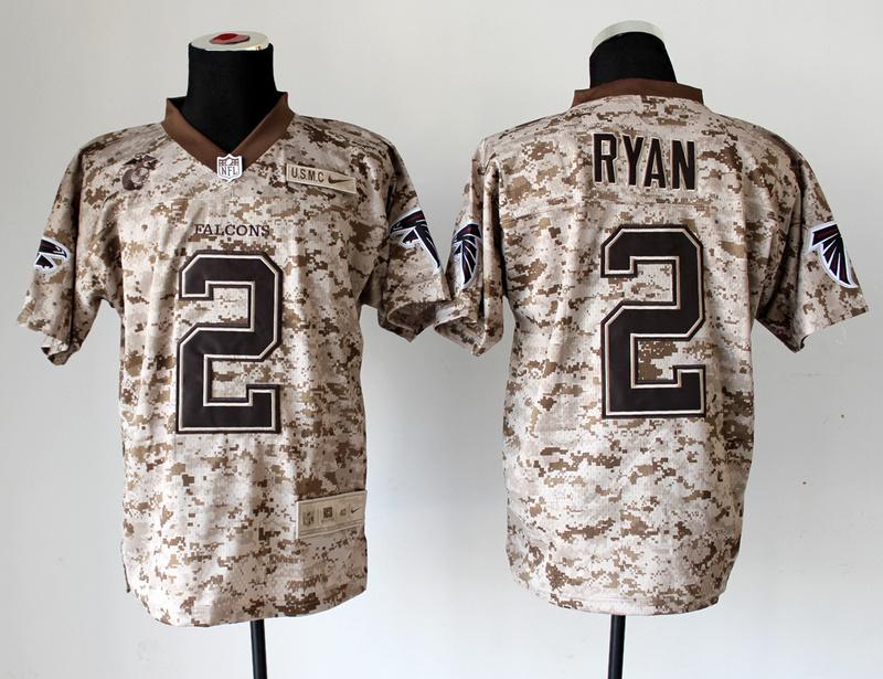 Atlanta Falcons 2 Ryan Nike Elite Camo US.Mccuu 2013 New Jerseys