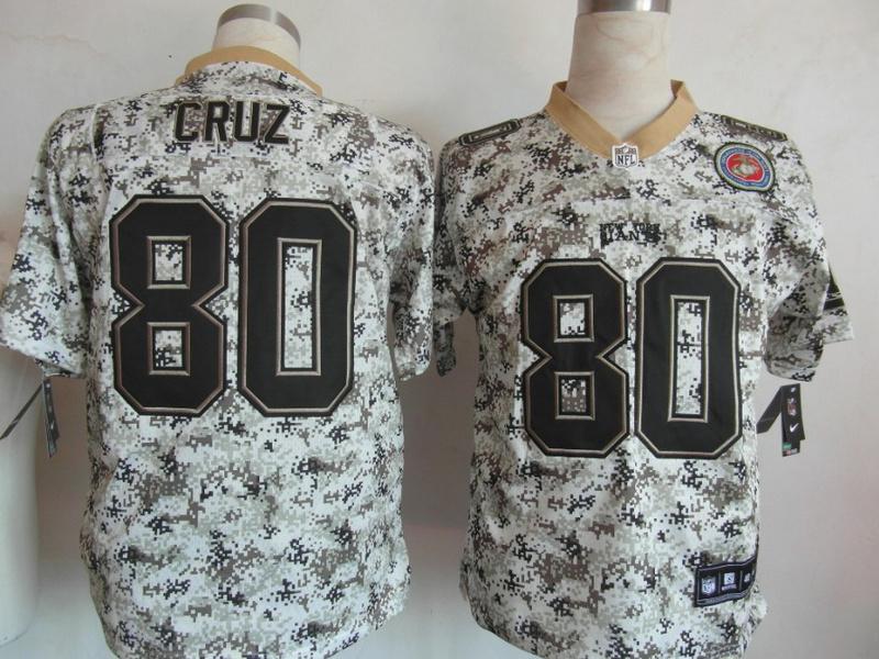 New York Giants 80 Victor Cruz Nike Camo USMccuu Jerseys
