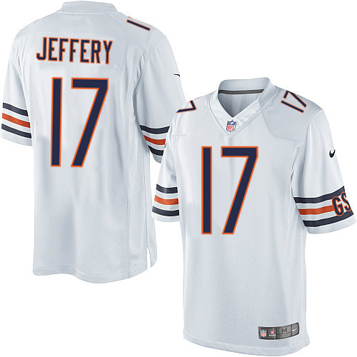 Chicago Bears 17 Jeffery White 2013 Nike Limited Jersey