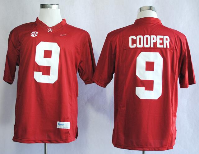 NCAA Alabama Crimson Tide 9 Amari Cooper Red College Football Limited Jerseys