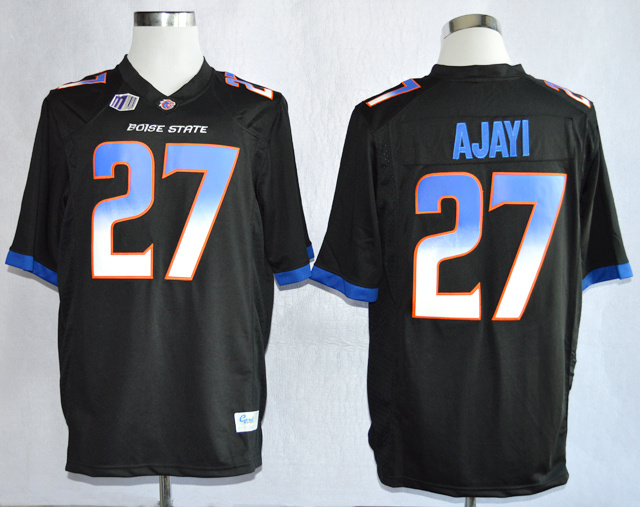 NCAA Boise State Broncos 27 Jay Ajayi Black College Football Jerseys