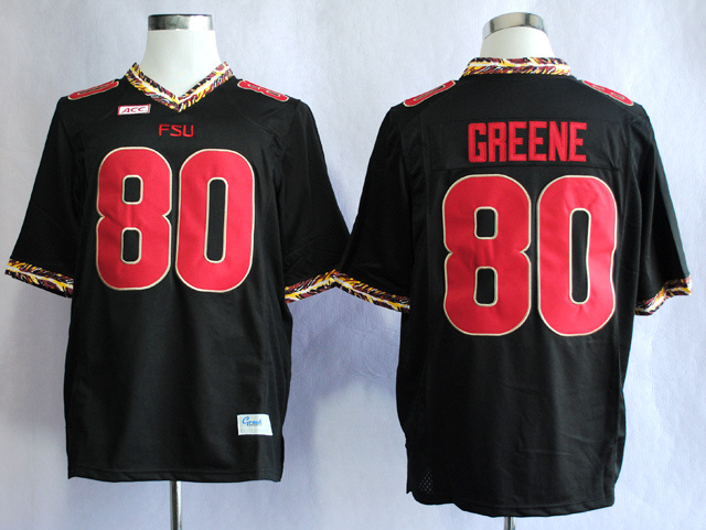 NCAA Florida State Seminoles FSU 80 Rashad Greene Black College Football Jerseys