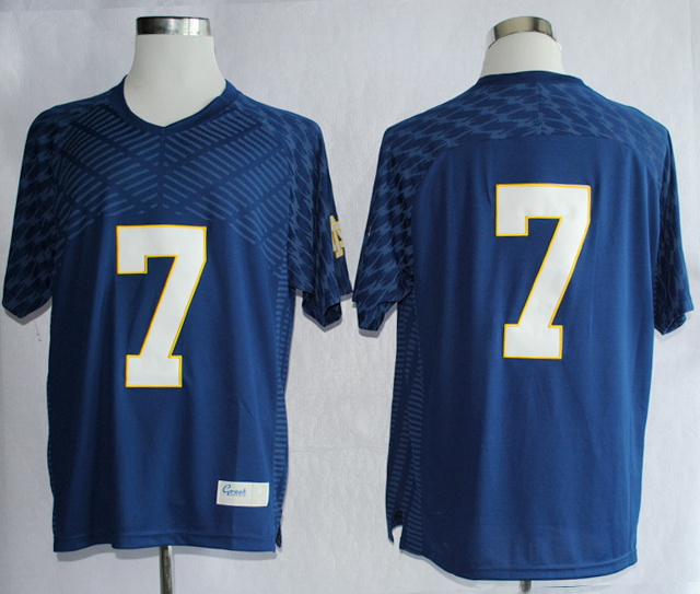 NCAA Notre Dame Fighting Irish 7 Stephon Tuitt Navy Blue Techfit College Football Jersey