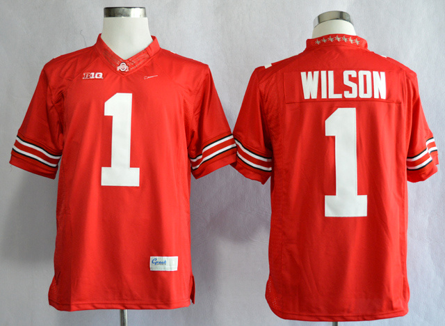 NCAA Ohio State Buckeyes 1 Dontre Wilson Scarlet College Football Limited Jerseys