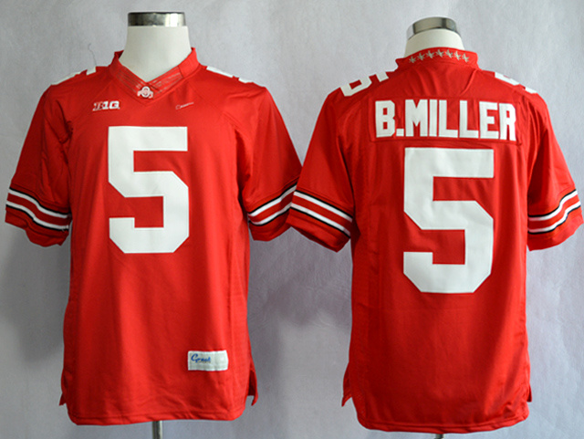 NCAA Ohio State Buckeyes 5 Braxton Miller Scarlet College Football Limited Jerseys