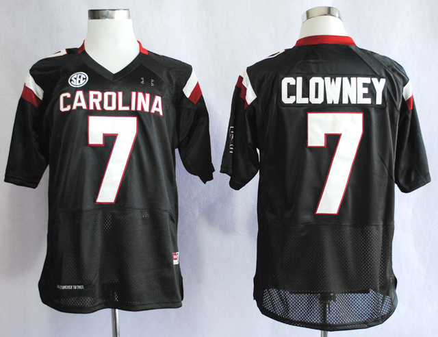 NCAA South Carolina Gamecocks 7 Jadeveon Clowney Black College Football 2013 Jersey