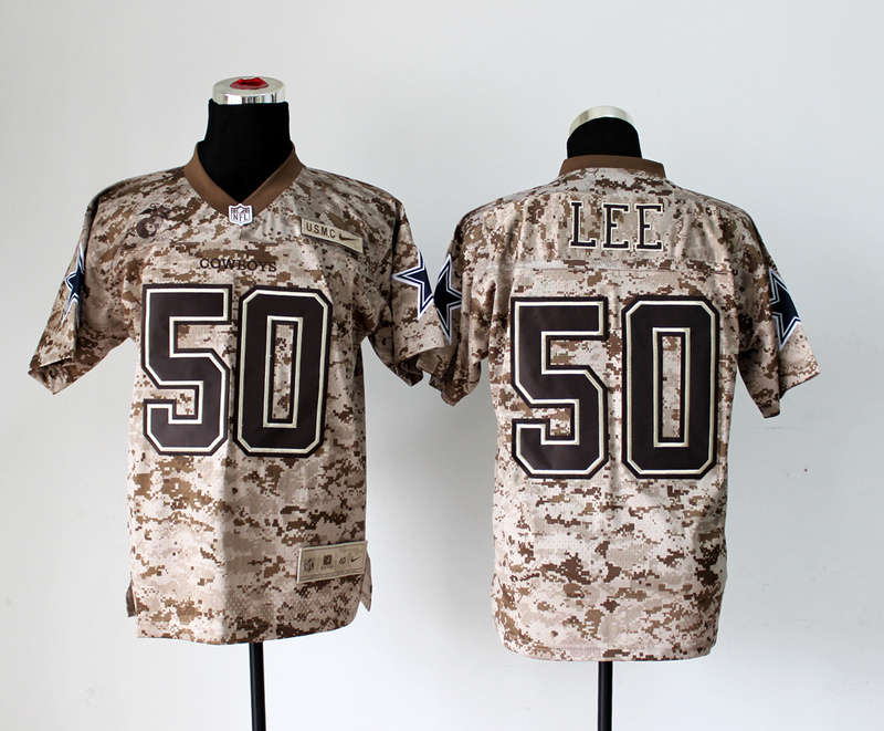 Dallas Cowboys 50 Lee Nike Elite Camo US.Mccuu 2013 New Jerseys