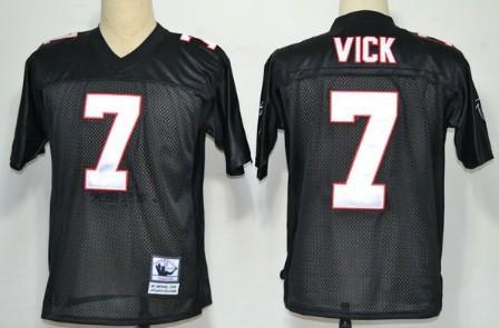 Atlanta Falcons Throwback Jerseys 7 VICK black