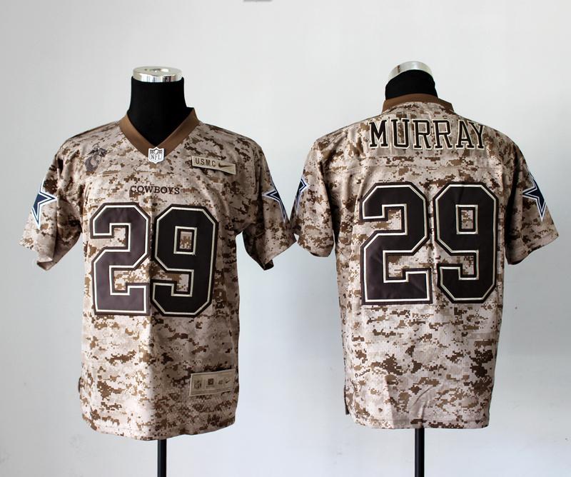 Dallas Cowboys 29 Murray Nike Elite Camo US.Mccuu 2013 New Jerseys