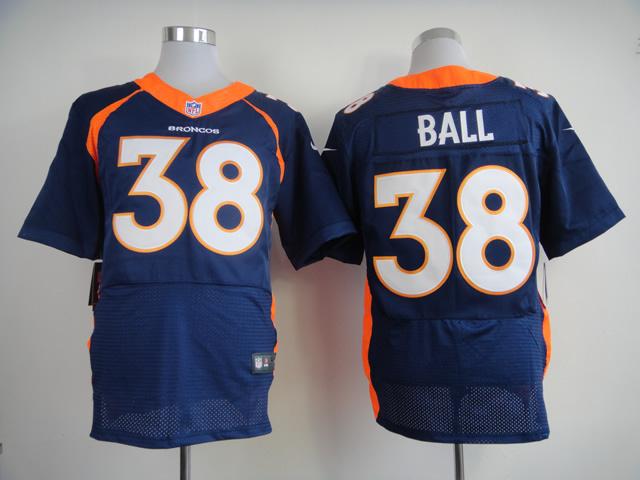 Denver Broncos 38 Montee Ball Dark Blue 2013 Nike Elite Jerseys
