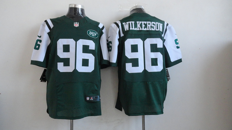New York Jets 96 Wilkerson Green 2013 Nike Elite Jerseys