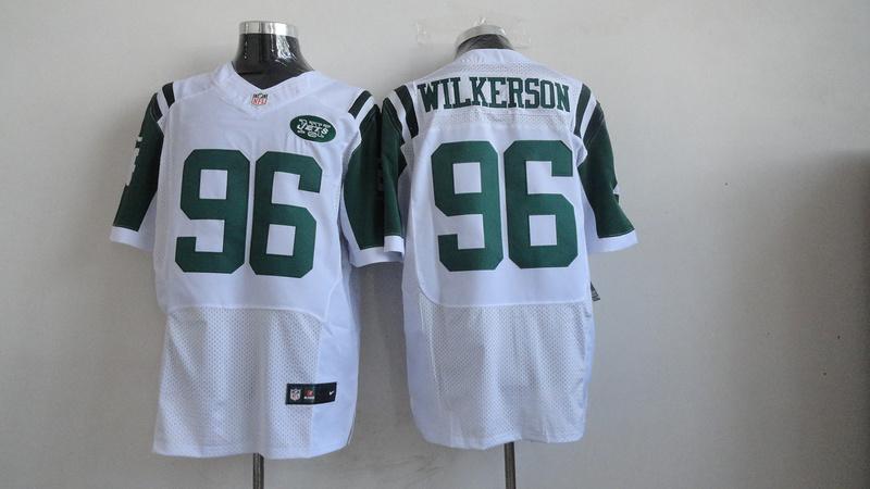 New York Jets 96 Wilkerson White 2013 Nike Elite Jerseys