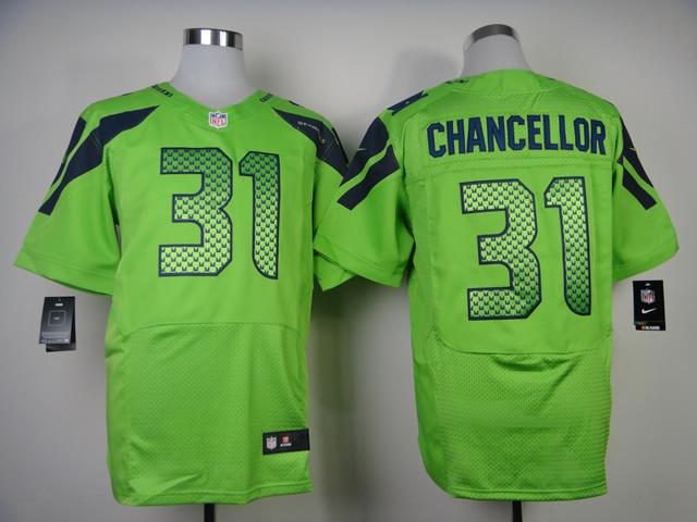 Seattle Seahawks 31 Chancellor Green 2013 Nike Elite Jerseys