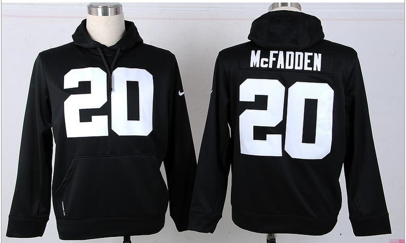 Nike NFL Oakland Raiders 20 McFadden Black Hoodie