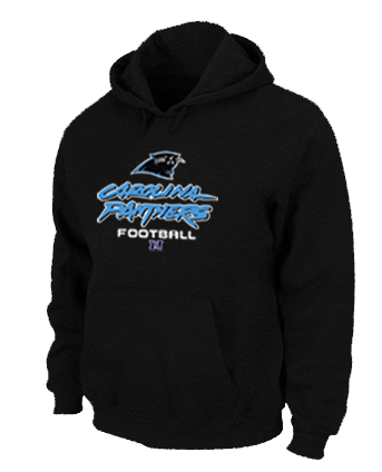 Carolina Panthers Critical Victory Pullover Hoodie Black