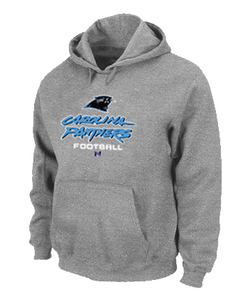 Carolina Panthers Critical Victory Pullover Hoodie Grey