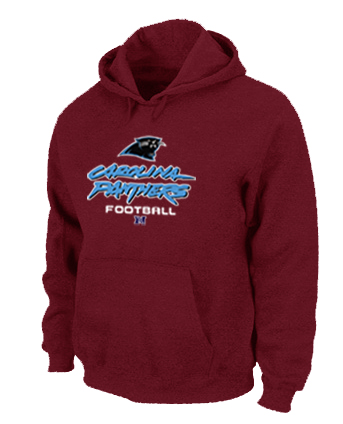 Carolina Panthers Critical Victory Pullover Hoodie RED