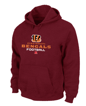 Cincinnati Bengals Critical Victory Pullover Hoodie RED