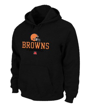 Cleveland Browns Critical Victory Pullover Hoodie Black