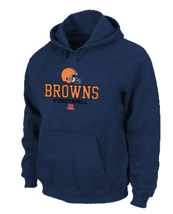 Cleveland Browns Critical Victory Pullover Hoodie D.Blue
