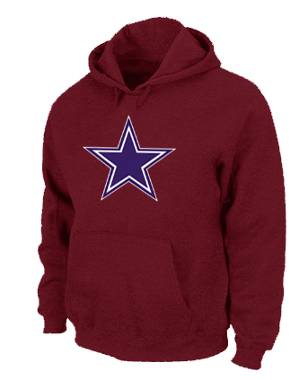 Dallas Cowboys Logo Pullover Hoodie RED