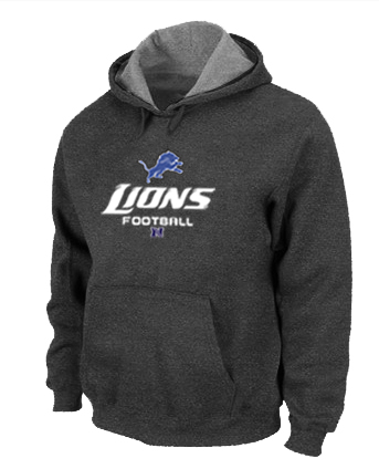 Detroit Lions Critical Victory Pullover Hoodie D.Grey