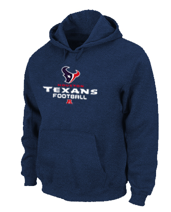 Houston Texans Critical Victory Pullover Hoodie D.Blue