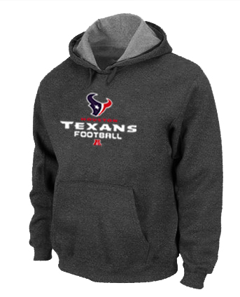 Houston Texans Critical Victory Pullover Hoodie D.Grey