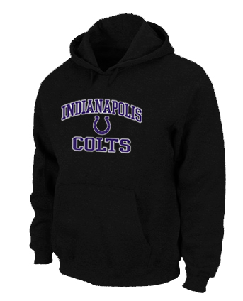 Indianapolis Colts Heart & Soul Pullover Hoodie Black