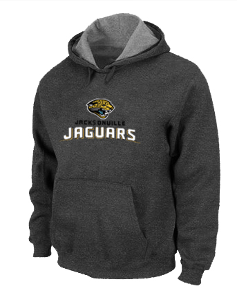 Jacksonville Jaguars Authentic Logo Pullover Hoodie D.Grey