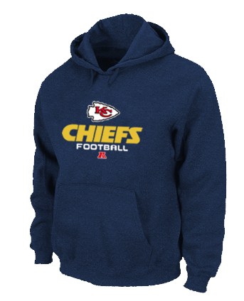 Kansas City Chiefs Critical Victory Pullover Hoodie D.Blue