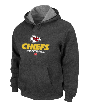 Kansas City Chiefs Critical Victory Pullover Hoodie D.Grey
